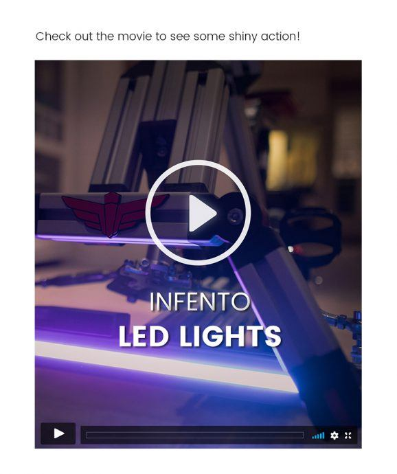 LED lights movie with infento screenshot