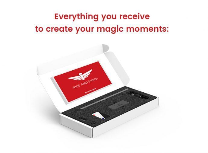 Create magic moments photo
