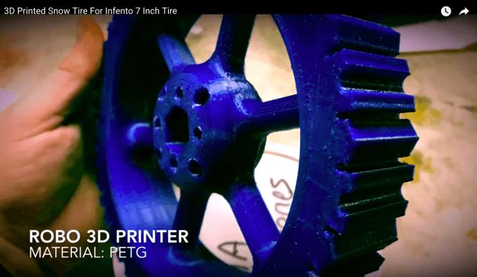 3D printed Snow Tire photo