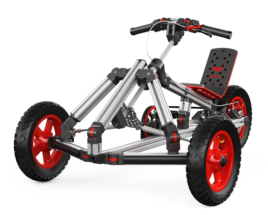 Pedal Go Karts Rock They Encourage Kids To Play Outside And Have Fun But Do You Already Know The Modular Kart This Is Real Deal