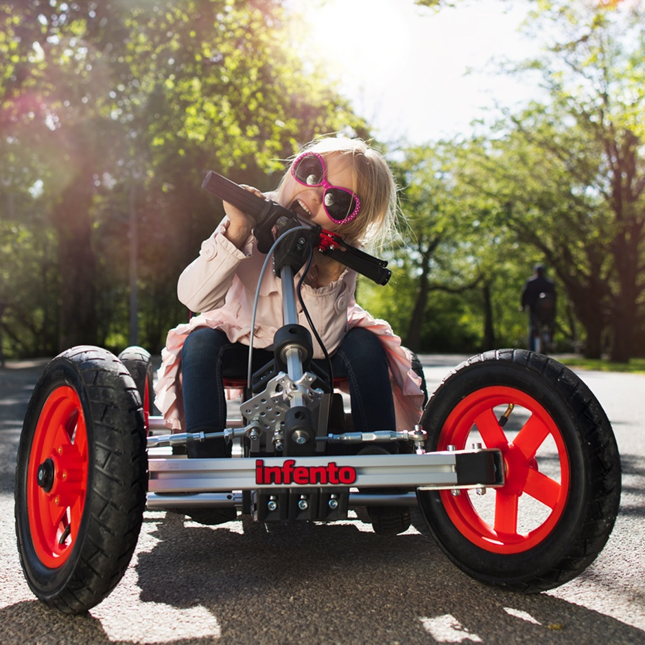 INFENTO: World's First Real Constructible Rides