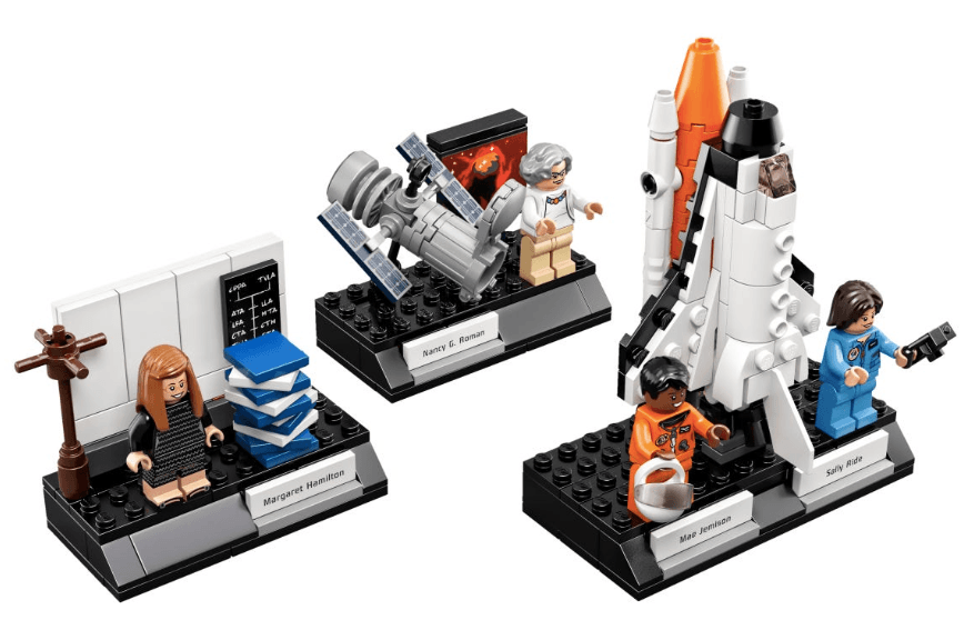 Lego women of NASA photo