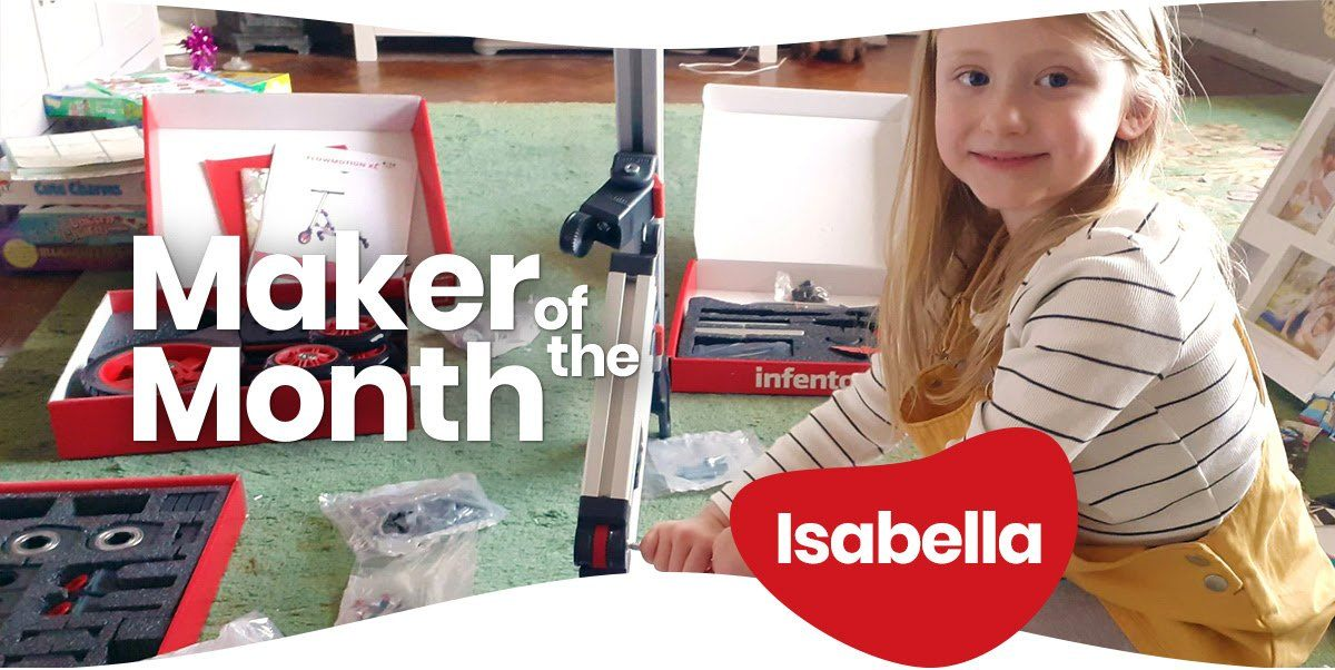 Maker of the month image, Isabella