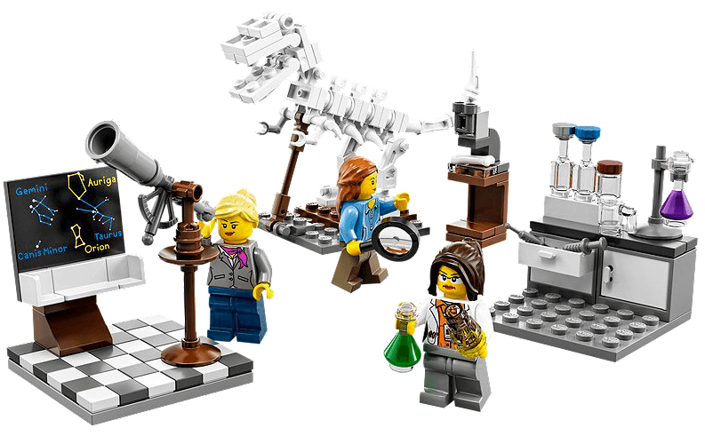 Science lego image