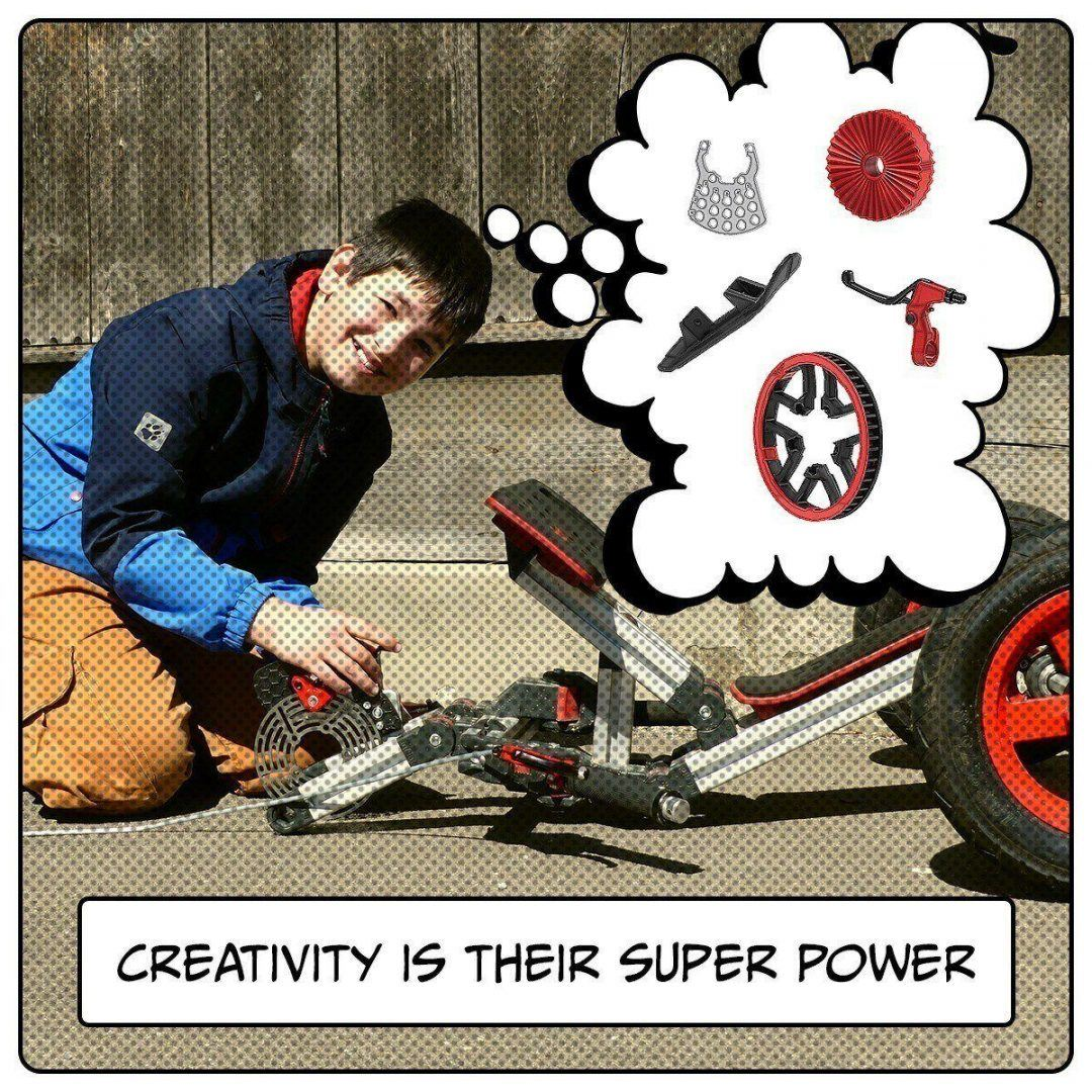 Creativity is super power image